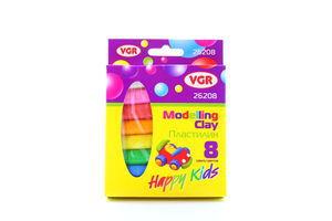 Набір пластиліну VGR 8кол 135г 26208-8