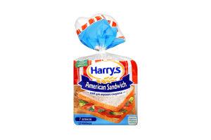 Хлеб ржаной нарезной 7 злаков American sandwich Harry's м/у 470г