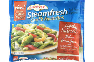 Birds Eye Steamfresh Chef's Favorites Italian Green Beans Lightly Sauced