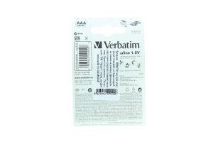 Verbatim Premium Alkaline батарейки LR03 AAA 4шт