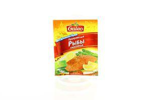 Приправа Galeo до риби лимонна 20г х40