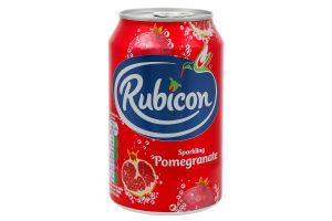 Напій Rubicon Pomegranate Sparkling б/а с/г ж/б 330мл х4