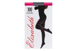 Колготки жіночі Elizabeth Microfibra 100den 5 nero