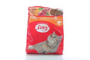 Корм для котов печеночный Мяу! м/у 400г