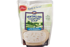 New England Country Soup New England Clam Chowder
