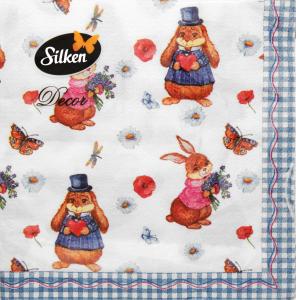 Салфетка Silken Декор Сказка 2-слойные