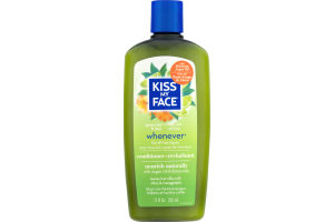 Kiss My Face Green Tea & Lime Whenever Conditioner Nourish Naturally