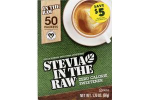 Stevia in the Raw Zero Calorie Sweetener - 50 CT