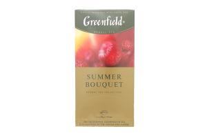 Чай трав'яний Summer Bouquet Greenfield пакет з/я 2г*25шт