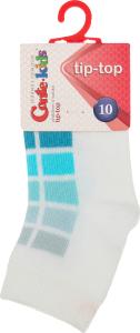 CONTE-KIDS TIP-TOP Шкарпетки дитячі р.10 217 білий-бірюза