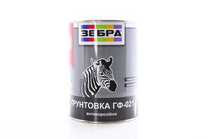ГРУНТ ГФ-021 ЗЕБРА БIЛ МАТОВ 0,9КГ