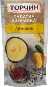 Заправка салатная лимонная Торчин д/п 140г