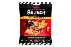 Трубочки мультизлакові зі справжнім сиром Yellow Cheese Brunch м/у 60г