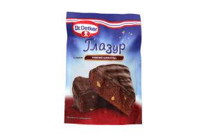 Глазурь Dr.Oetker темный шоколад 100г
