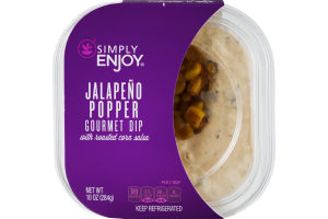 Simply Enjoy Gourmet Dip Jalapeno Popper