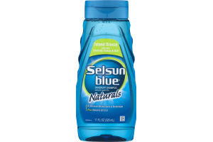 Selsun Blue Dandruff Shampoo Naturals Island Breeze