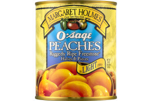 Margaret Holmes O'sage Peaches in Light Syrup