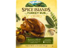Spice Islands Turkey Rub Savory Herb