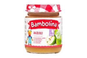 Пюре Bambolina 100г яблуко