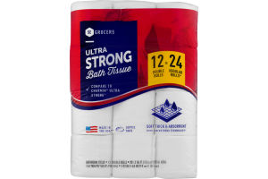 SE Grocers Bath Tissue Ultra Strong - 12 CT