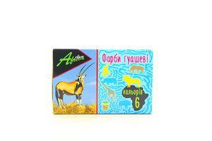 Краски Economix Africa гуаш 6цв*10мл арт.60117