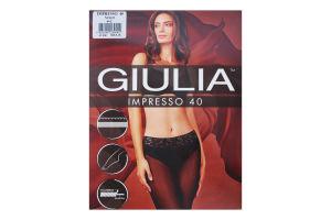 Колготки жіночі Giulia Impresso 40den 4-L nero