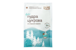 Пудра сахарная со вкусом ванили Мрія м/у 80г