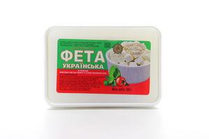Фета 45% украинская Свет сыр лоток 300г
