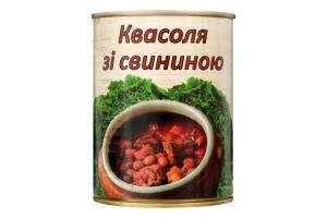 Квасоля зі свининою L'appetit з/б 350г