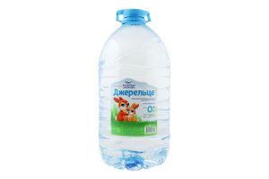 Вода для дітей від 0міс для приготування негазована Джерельце Карпатська джерельна п/пл 6л