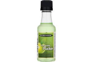 Dekuyper Pucker Sweet & Sour Schnapps Imitation Liqueur Sour Apple