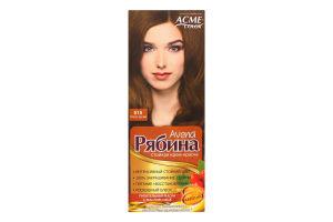 Крем-краска для волос №015 Темно-русый Рябина Avena Acme Color 1шт