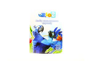 Картон Cool for School Rio цветной А4 10л арт.RI00200