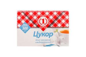 Сахар белый прессованный быстрорастворимый №1 к/у 500г