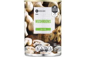 SE Grocers Mushrooms Sliced