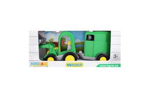Игрушка для детей от 3лет №39349 Трактор с прицепом Autopark Wader 1шт