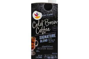 Ahold Cold Brew Coffee Medium Roast Signature Blend