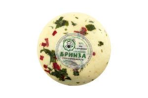 Сир 35% з зеленню Бринза Світ молочних насолод кг