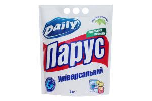 Порошок стиральный универсальный Daily Парус 3кг