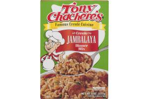 Tony Chachere's Creole Dinner Mix Jambalaya