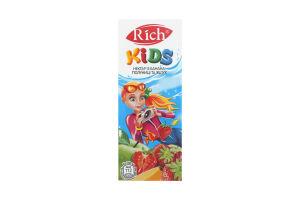 Нектар из банана, клубники и яблок Rich Kids т/п 200мл