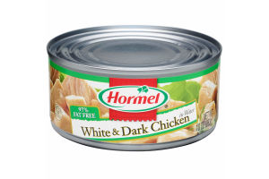Hormel Canned White and Dark Chunk Chicken, 10 Ounce