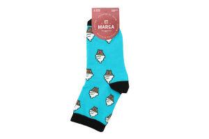 Шкарпетки жіночі Marca №42108 23-25 морозиво морська хвиля