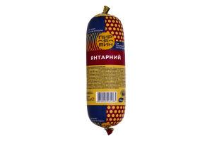 Сир плавлений 60% Янтарний Пирятин м/у 330г