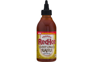 Frank's RedHot Hot Sauce Sweet Ginger Rajili