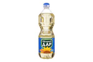 Олія соняшникова холодної рафінації Щедрий Дар п/пл 0.85л