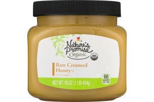Nature's Promise Organic Raw Creamed Honey