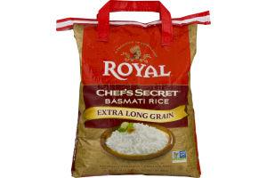 Royal Chef's Secret Basmati Rice Extra Long Grain