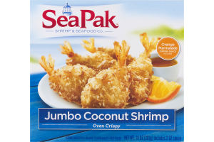 SeaPak Jumbo Coconut Shrimp