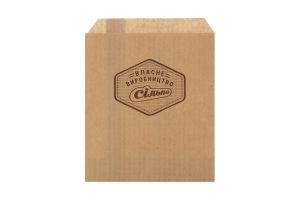 Пакет бумажный 150х117х0 Собств Производство